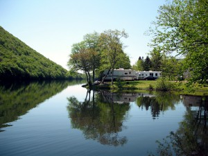 The Lakes Campground in Cape Breton Nova Scotia